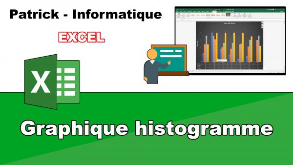 Excel 2019 - Graphique en histogramme