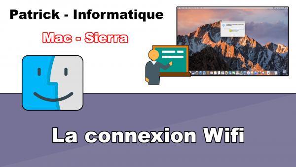 Mac - Sierra - Connexion Wifi