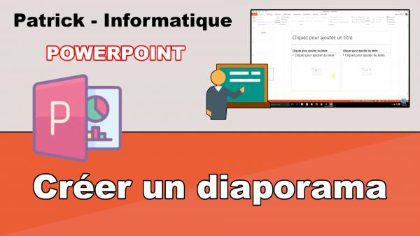 PowerPoint 2013 - Créer un diaporama