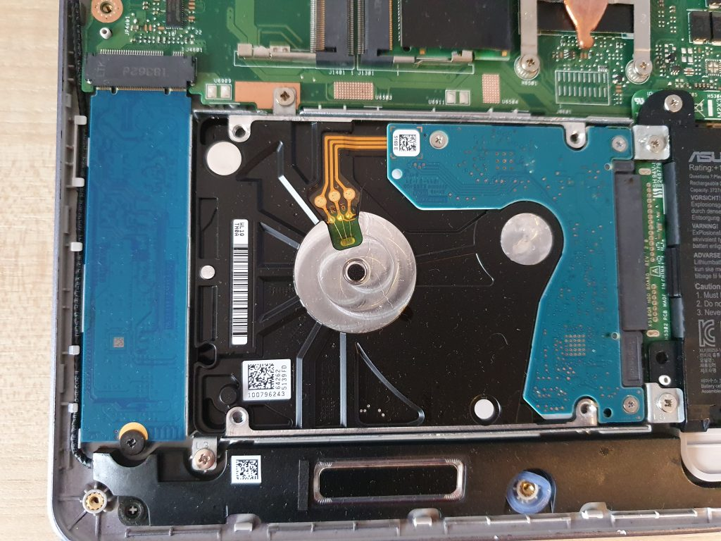 Disque SSD et HDD