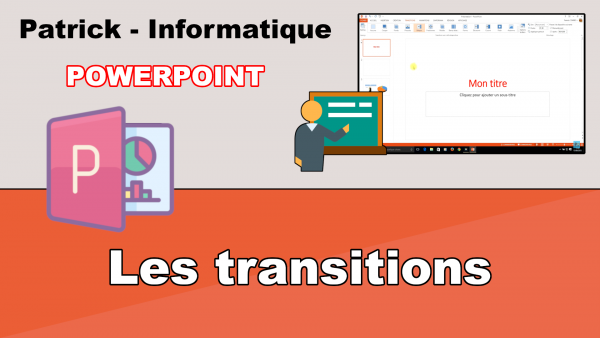 PowerPoint 2013 - Les transitions