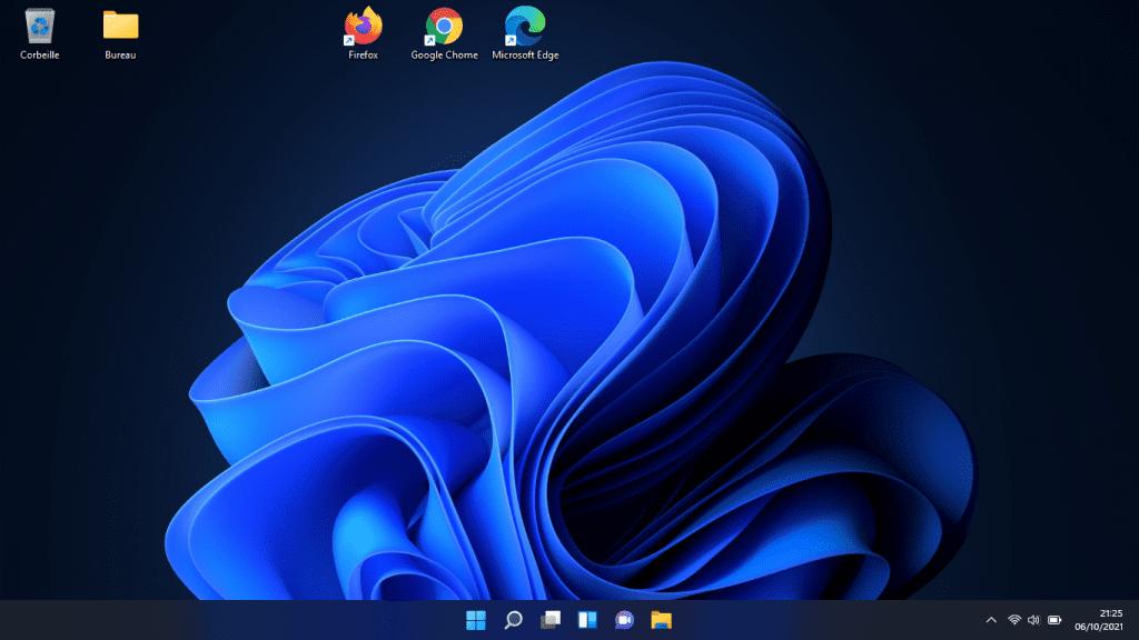Windows 11 - Bureau